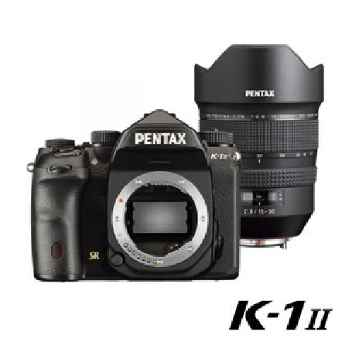 K-1II+HD DFA 15-30mm 單鏡組註冊禮!原廠電池手把 ~110.10.31止
