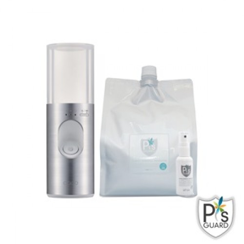 【全面防護組】cado MH-C11U充電式加濕霧化器+2.3L補充包*1+50ml隨身瓶*1